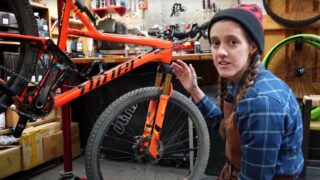 Syd talking about basic repairs for your bikes