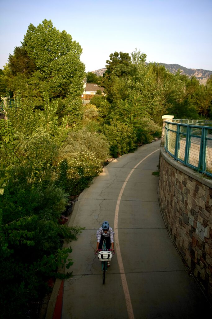 The Boulder bike path system is hard to beat!
