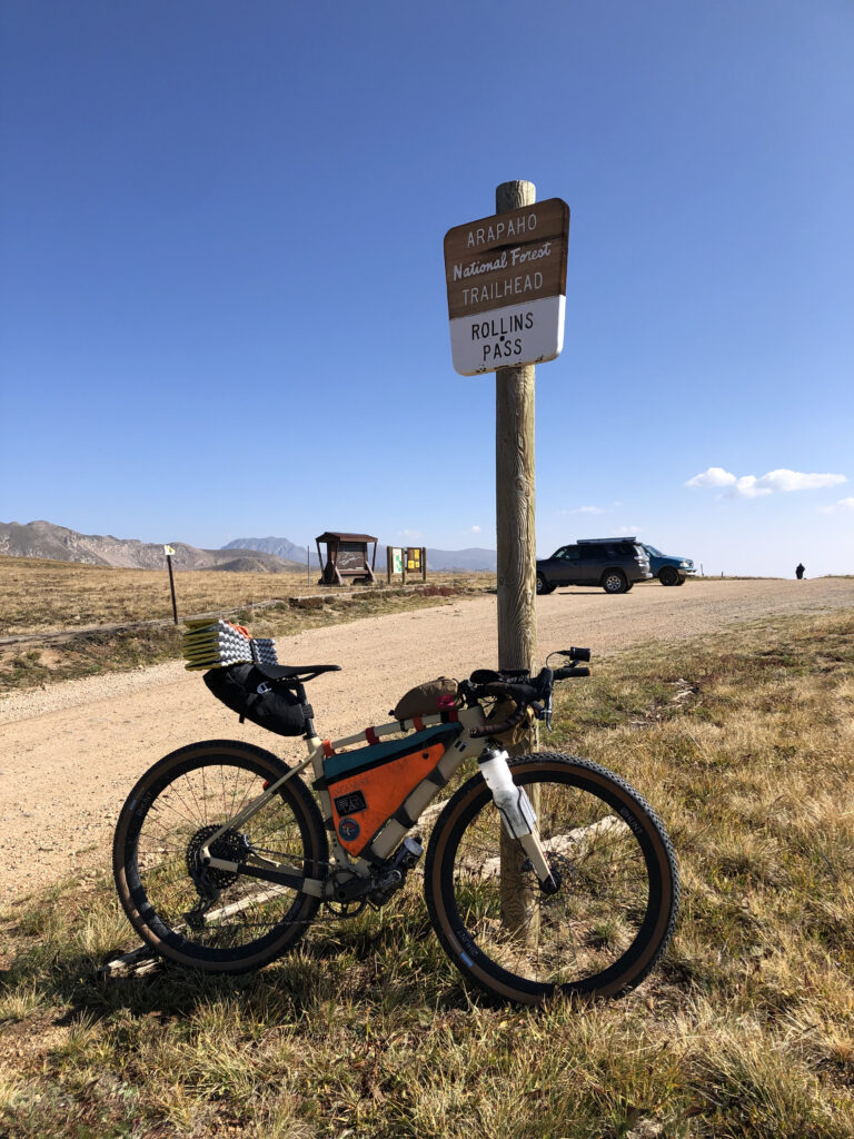 Day 2: Top of Rollins Pass.